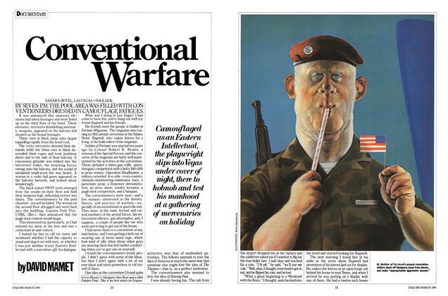 Article Preview: Conventional Warfare, MARCH 1985 1985 | Esquire