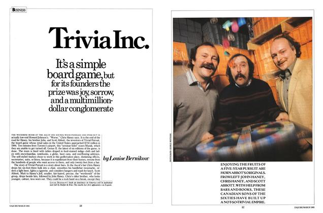 Article Preview: Trivia Inc., MARCH 1985 1985 | Esquire