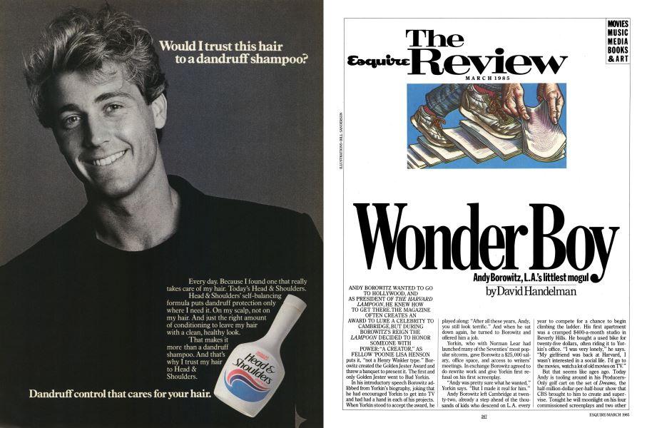 Wonder Boy   Esquire   MARCH 1985