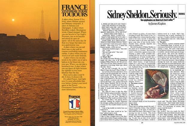 Article Preview: Sidney Sheldon. Seriously., April 1985 | Esquire