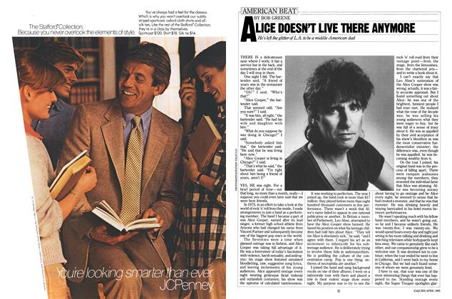 Article Preview: Alice Doesn't Live There Anymore, APRIL 1985 1985 | Esquire
