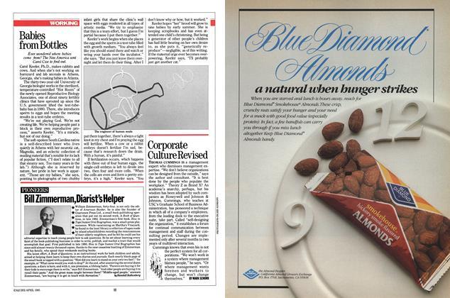 Article Preview: Bill Zimmerman, Diarist's Helper, APRIL 1985 1985 | Esquire