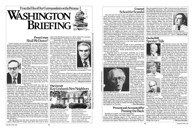 Article Preview: Washington Briefing, APRIL 1985 1985 | Esquire