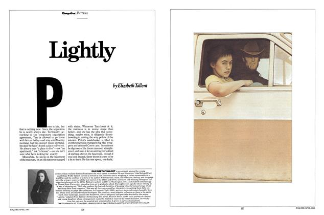 Article Preview: Lightly, APRIL 1985 1985 | Esquire