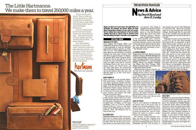 Article Preview: News & Advice, APRIL 1985 1985   Esquire