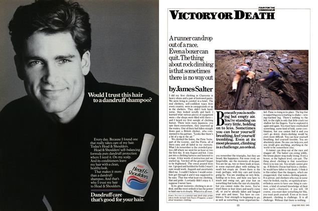 Article Preview: Victory Or Death, MAY 1985 1985 | Esquire