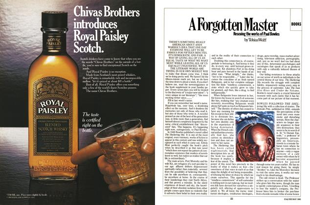 Article Preview: A Forgotten Master, MAY 1985 1985 | Esquire