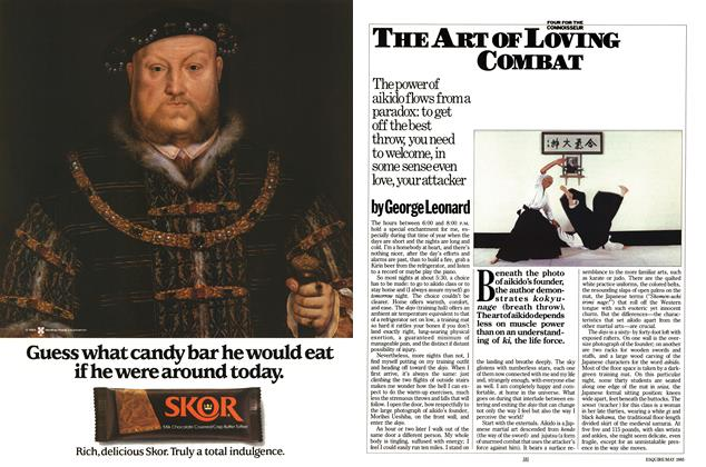 Article Preview: The Art of Loving Combat, May 1985 | Esquire
