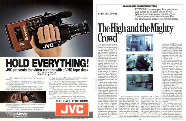 Article Preview: The High and the Mighty Crowd, June 1985 | Esquire