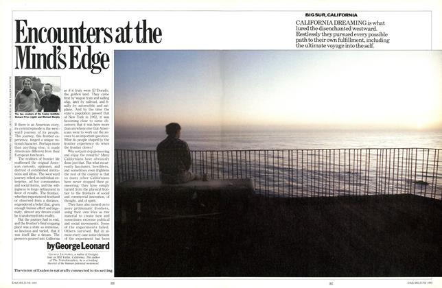 Article Preview: Encounters at the Mind's Edge, June 1985   Esquire