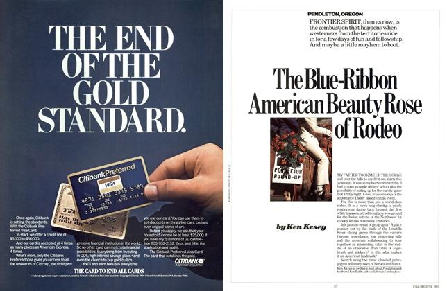 Article Preview: The Blue-ribbon American Beauty Rose of Rodeo, JUNE 1985 1985 | Esquire