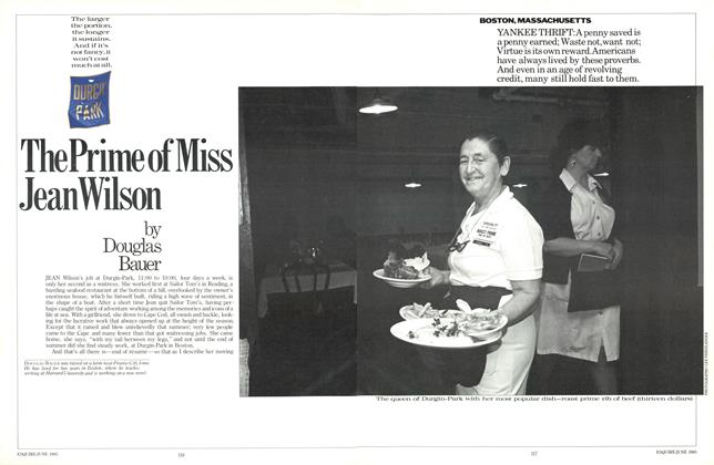 Article Preview: The Prime of Miss Jean Wilson, JUNE 1985 1985   Esquire