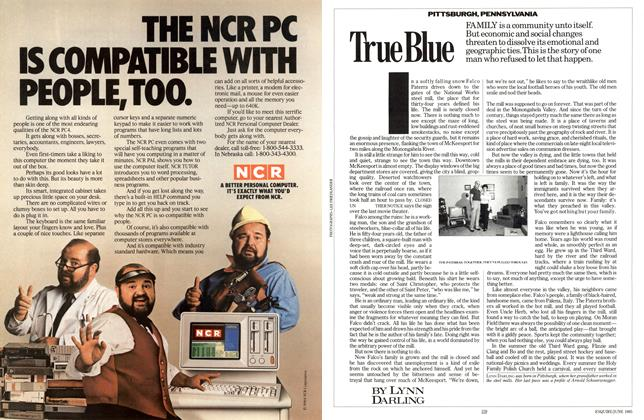 Article Preview: True Blue, JUNE 1985 1985 | Esquire