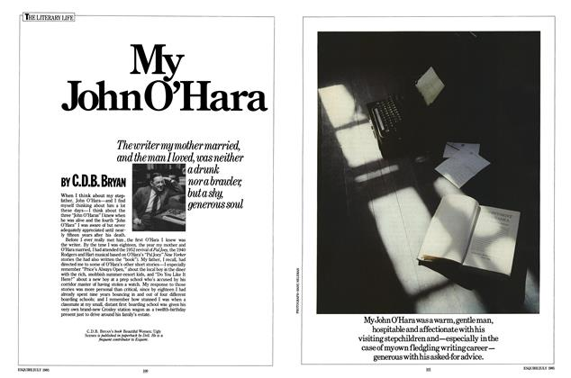 Article Preview: My John O'Hara, JULY 1985 1985 | Esquire