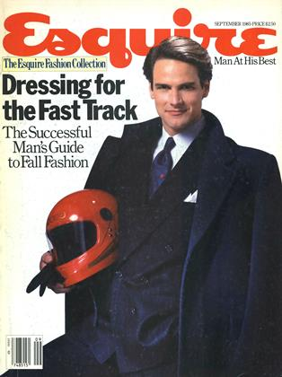 SEPTEMBER 1985 | Esquire