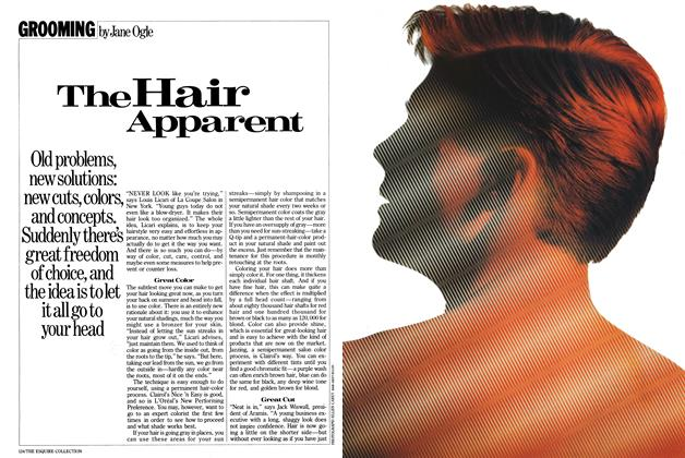 Article Preview: The Hair Apparent, September 1985 | Esquire