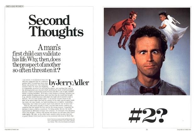 Article Preview: Second Thoughts, OCTOBER 1985 1985 | Esquire