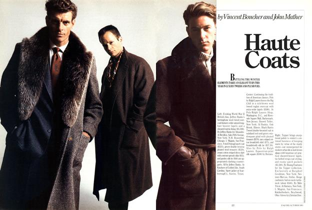 Article Preview: Haute Coats, OCTOBER 1985 1985 | Esquire