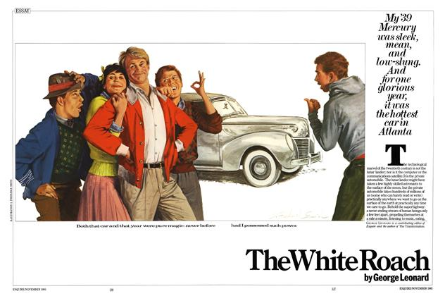 Article Preview: The White Roach, NOVEMBER 1985 1985 | Esquire