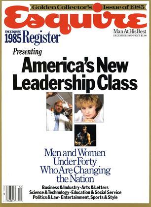 DECEMBER 1985 | Esquire