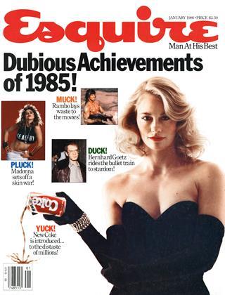 JANUARY 1986 | Esquire