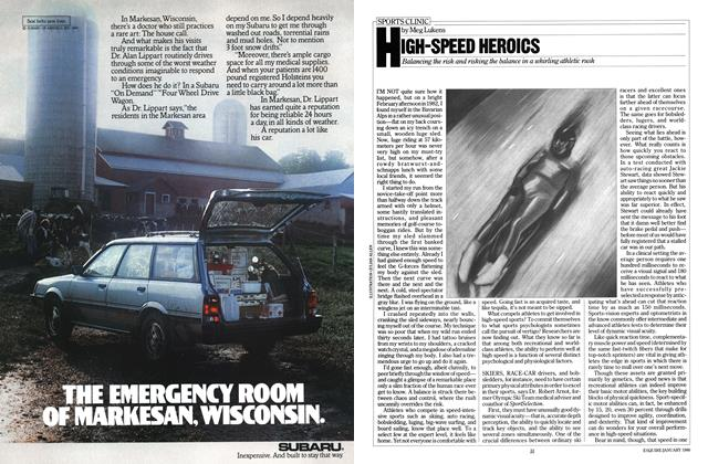 Article Preview: High-Speed Heroics, January 1986 | Esquire