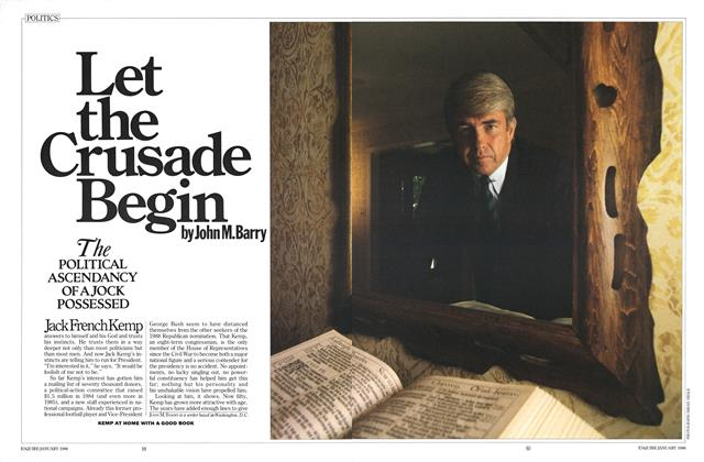 Article Preview: Let the Crusade Begin, January 1986 | Esquire