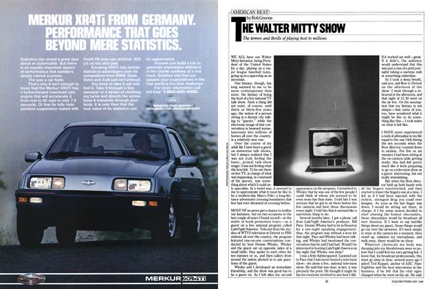 Article Preview: The Walter Mitty Show, February 1986 | Esquire