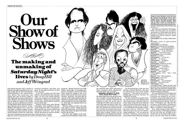 Article Preview: Our Show of Shows, FEBRUARY 1986 1986 | Esquire