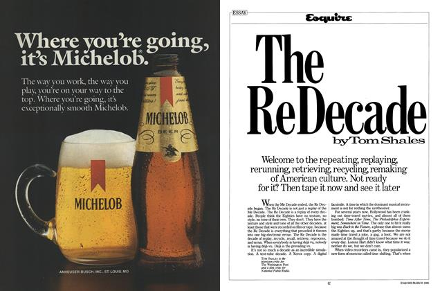 Article Preview: The Re Decade, March 1986 | Esquire
