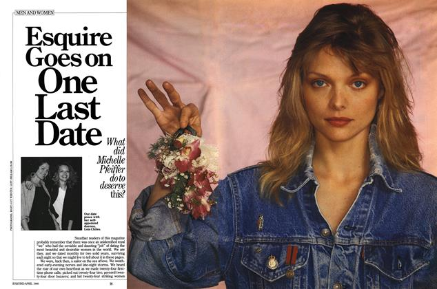 Article Preview: Esquire Goes on One Last Date, APRIL 1986 1986 | Esquire