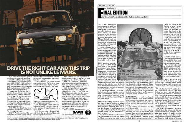 Article Preview: Final Edition, MAY 1986 1986 | Esquire