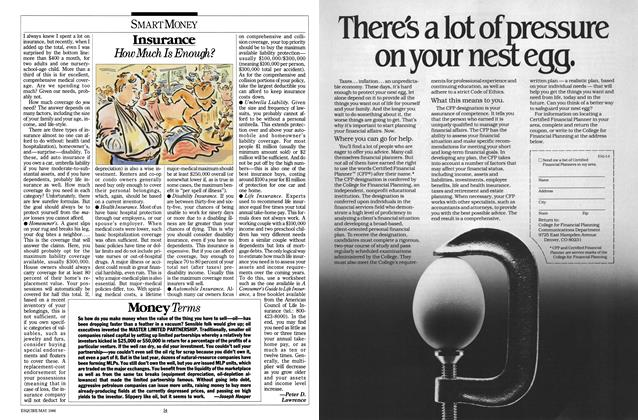 Article Preview: Money Terms, MAY 1986 1986 | Esquire