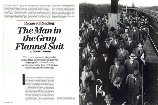 Article Preview: The Man in the Gray Flannel Suit, June 1986 | Esquire