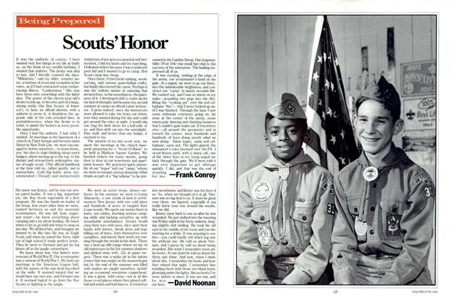 Article Preview: Scouts' Honor, June 1986 | Esquire