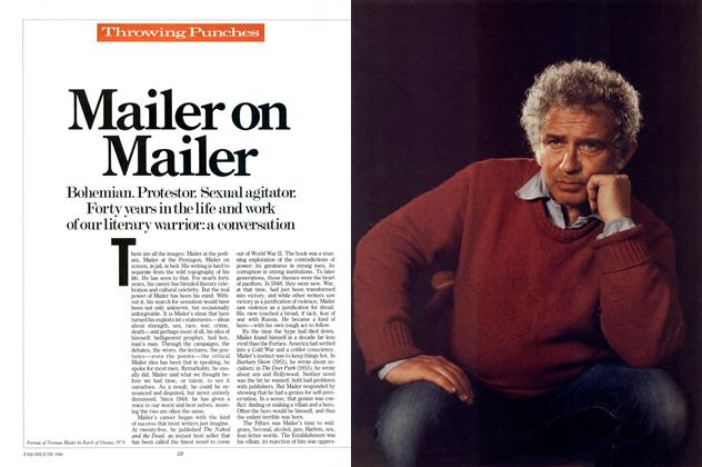 Article Preview: Mailer on Mailer, June 1986 | Esquire