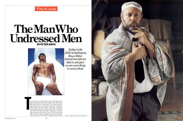Article Preview: The Man Who Undressed Men, JUNE 1986 1986 | Esquire