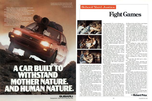Article Preview: Fight Games, JUNE 1986 1986 | Esquire