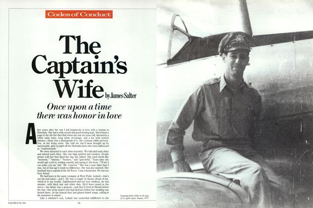 Article Preview: The Captain's Wife, June 1986 | Esquire