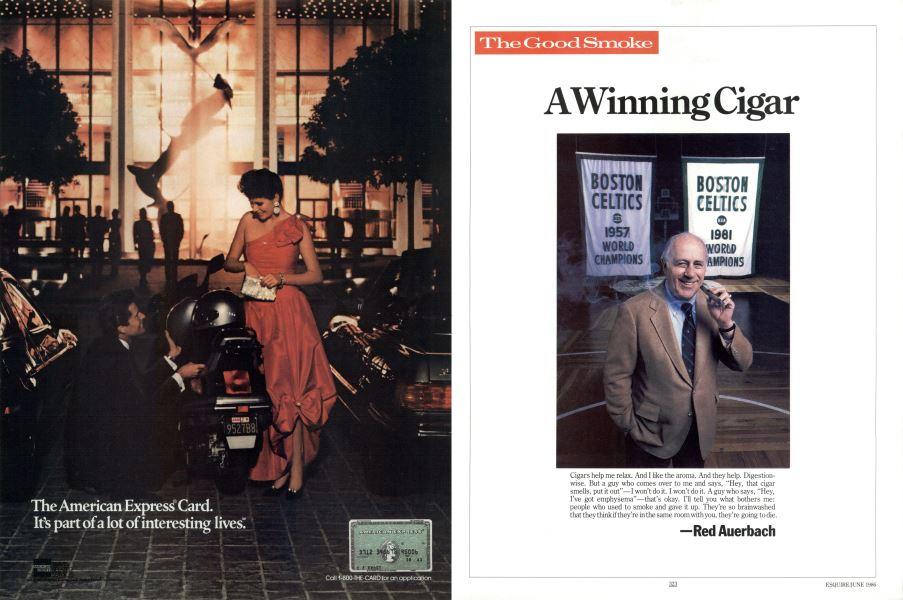 A Winning Cigar Esquire June 1986