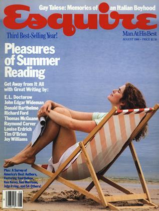 AUGUST 1986 | Esquire