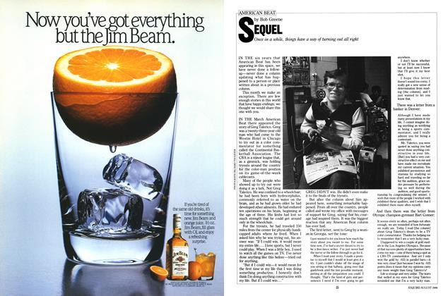 Article Preview: Sequel, AUGUST 1986 1986 | Esquire