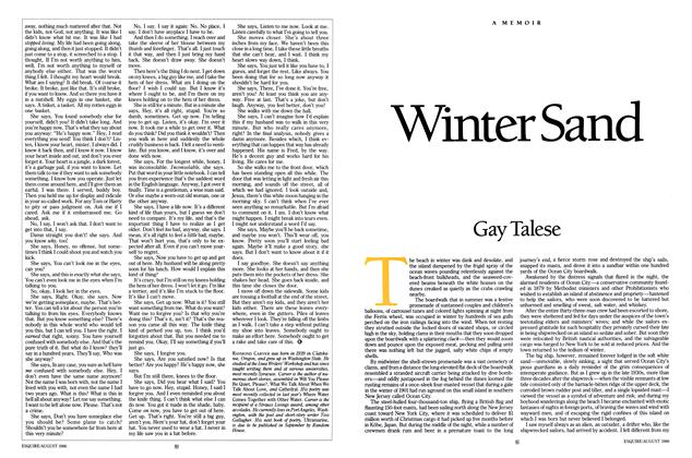 Article Preview: Winter Sand, August 1986 | Esquire