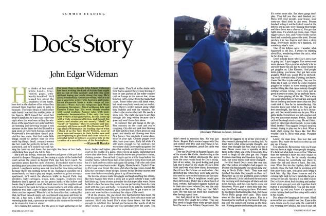 Article Preview: Doc's Story, AUGUST 1986 1986 | Esquire