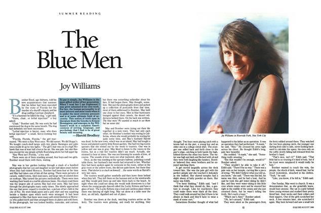 Article Preview: The Blue Men, August 1986 | Esquire