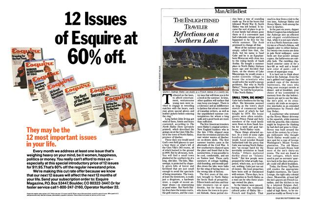 Article Preview: Reflections on a Northern Lake, SEPTEMBER 1986 1986 | Esquire