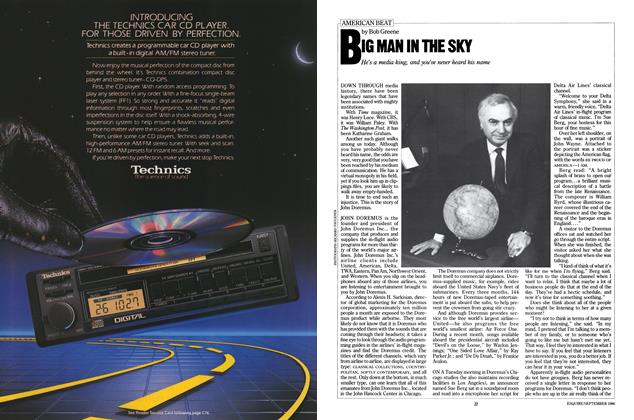 Article Preview: Big Man in the Sky, September 1986 | Esquire