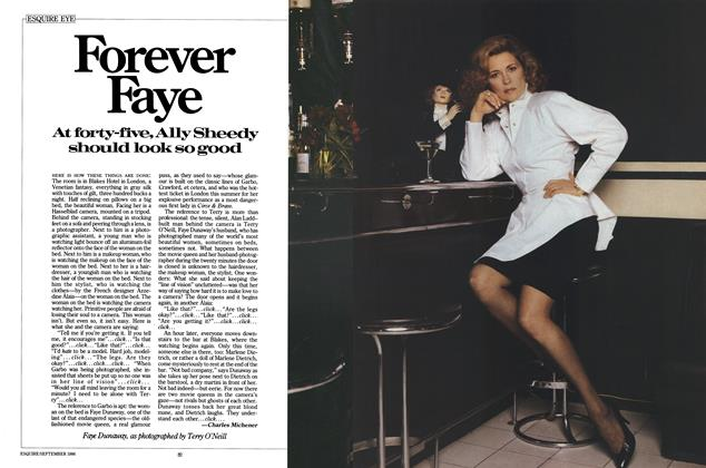 Article Preview: Forever Faye, SEPTEMBER 1986 1986 | Esquire