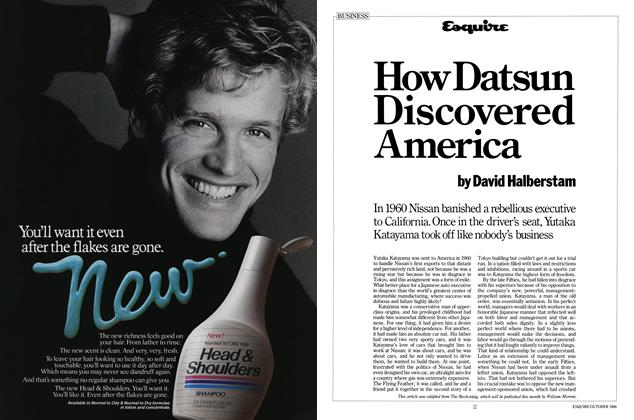 Article Preview: How Datsun Discovered America, October 1986 | Esquire