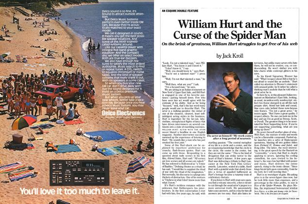 William Hurt and the Curse of the Spider Man